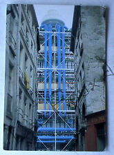 Carte postale Centre Pompidou Beaubourg JS Faber 1978   postcard