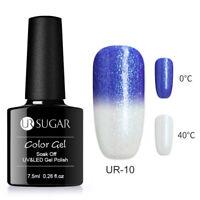 Temperature Colour Changing Gel Nail Polish Thermal Soak Off UV LED Gel UR SUGAR