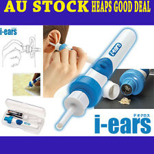 i-ears Self Vibrating Ear Cleaner Kit Strong Safe Quiet Convenient Waxvac Gen 2