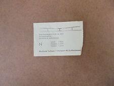 Vollmer Unterbrechergarnitur - Oberleitung Art. Nr. 8017 Spur N (3 Packungen)