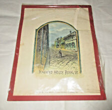 Haunted House Royal Street New Orleans Cotton Centennial Guidebook 1885