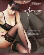 VARIOUS COLOURS Sexy Smooth Ultra Sheer Stockings with Lace Tops 3 6 4 Festival