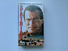 The Patriot - Steven Seagal - PAL VHS Video - 1998 Columbia / Tristar