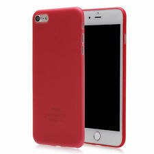 Red Mobile Phone Fitted Case for Apple