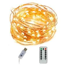 led String Lights lamp 8 Modes Timer LED Fairy  Twinkle Firefly for Xsmas party