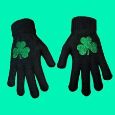 Shamrock Stretchy Gloves Will Fit From Small To Large