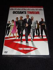 OCEAN'S TWELVE DVD (BRAND NEW)