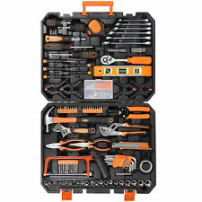 168Pcs Socket Wrench Auto Repair Tool Set Combination Package Mixed Hand W/Case