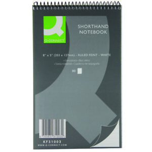 2 x 160 Page Notepad Notebook Shorthand Pad Reporter Pad- Dispatched Same Day