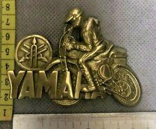 Yamaha Solid Brass Belt Buckle