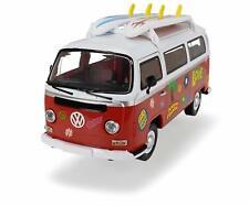 Dickie Toys Surfer Volkswagen Camper Van Toy 'Red' NEW & SEALED