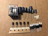 Marantz 2240 Power Supply Rebuild Recap Kit Capacitors Transistors Diodes Relay