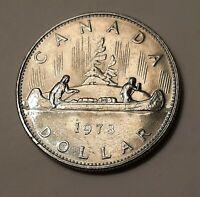 1978 Canada One Dollar Coin (100% Nickel) - Queen Elizabeth II