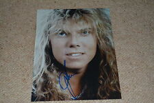 JOEY TEMPEST signed Autogramm  In Person 20x25 cm EUROPE The Final Countdown