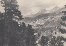 Photo originale CHEMIN DE FER Bernina charnadüraschlucht Christian MEISSER 1909