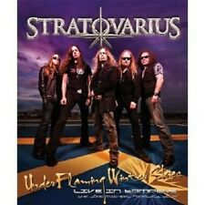 """STRATOVARIUS """"UNDER FLAMING WINTER SKIES - LIVE IN TAMPERE""""  BLU-RAY NEW+"""