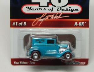 HOT WHEELS Larry Wood 40 Years of Design  A-OK  Real Riders 1/6 #2358/7500