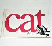 Vintage B Kliban Cat 1976 Cloth Hardcover Cartoon Book, Clean & Unmarked
