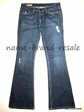 WILLIAM RAST BELLE FLARE Jeans Womens 26 x 33 Designer Denim RIPPED DISTRESSED
