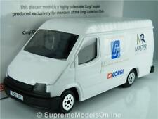 FORD TRANSIT VAN MODEL CORGI WHITE COLOUR CARDS INC PACKAGED EXAMPLE T3412Z(=)