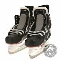 NEW Bauer Vapor X500 Junior Ice Hockey Skates in Black / Red / White - 6