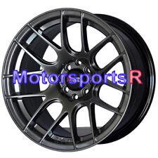 XXR Wheels 530 15x8 +20 Chromium Black Rims Stance 4x100 92 95 02 Honda Civic SI