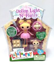 NEW! Mini Lalaloopsy Figure Doll Dollop Light N' Fluffy Exclusive RARE Girls Toy