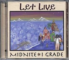 MIDNITE - LET LIVE CD Virgin Islands Roots Reggae