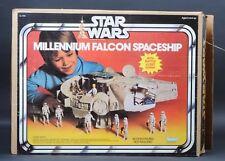 Star Wars Vintage Millennium Falcon Spaceship MIB Complete