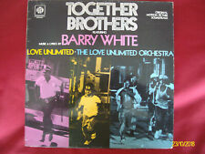 TOGETHER BROTHERS BARRY WHITE VINYL LP