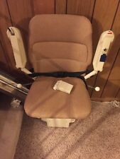 14 ft Stannah Indoor Chair Stair Lift Elevator Model # 300 With Remote And Key