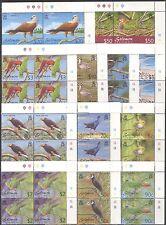 Solomon Islands 2001 Birds/Raptor/Parrots/Kingfisher/Dove/Nature 12v c/b n14287a