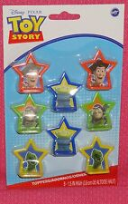 Toy Story,Buzz,Cupcake Toppers,Plastic,Wilton,Multi-Color,8ct.2113-8080