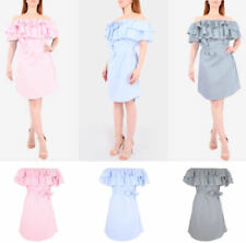 Cotton Dresses for Women with Ruffle All Seasons