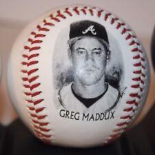 Greg Maddux Atlanta Braves 1995 World Champion Legends Fotoball Burger King