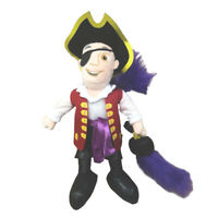 Wiggles Licensed Captain Feathersword Plush Stuffed Toy 25cm **FREE DELIVERY**