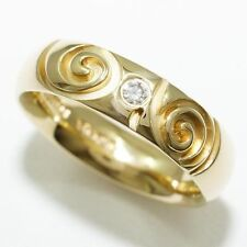 Niessing Gelbgold Ring mit Diamanten