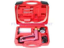 Hand Held Vacuum Pump Tester & Brake Bleeder Kit for Cars and Motorcycles Tool
