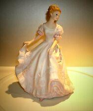 """Vtg Lady Caroline Homco Masterpiece Porcelain 1993 Signed 9"""" T"""
