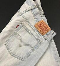 Mens Levis 527 Low Boot Cut Jeans Sz 32x30 (Measures 31x30) Light Wash