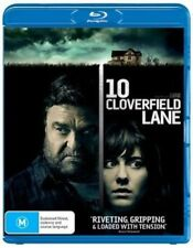 10 Cloverfield Lane Blu-ray 2016 Region Mary Elizabeth Winstead