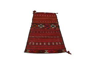 418-Nomadic Saddle Bag, Tribal Bag, Bike Bag, Anatolian Kilim, Vintage Kilim Bag
