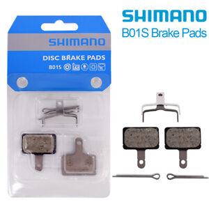 2x Shimano B01S Bicycle Bike Wheel Brake Pads Genuine Pads Disc Brake Pads
