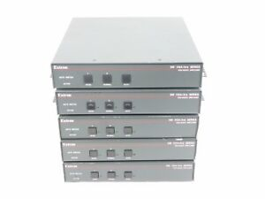 (LOT OF 5) EXTRON SW VGA/Ars Series VHA/Audio Switcher SW2 - w/ WARRANTY!!
