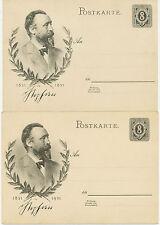 DT.REICH 1931 Sonderpostkarte 100jährigen Geburtstag Dr. Heinrich von Stephan