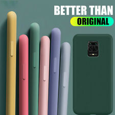 For Xiaomi Redmi Note 9s 8 7 Pro 8T 6 5 Pro 7A 8A Liquid Silicone TPU Case Cover