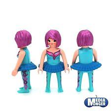 playmobil Fairy Figurine: Fairy Elf Ballerina Women turquoise violet blue