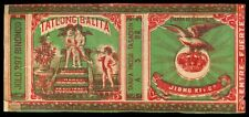 Philippines TATLONG BALITA Cigarette Label
