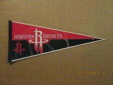 75fdf51c7e8 NBA Houston Rockets Vintage 2000 s Tag Express Logo Basketball Pennant