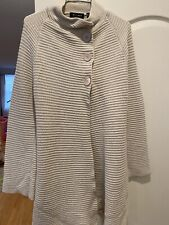AXCESS Women's Button-Small-preowned-off White /Light Grey